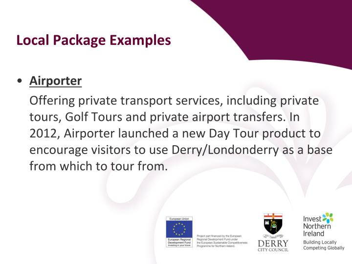 Local Package Examples