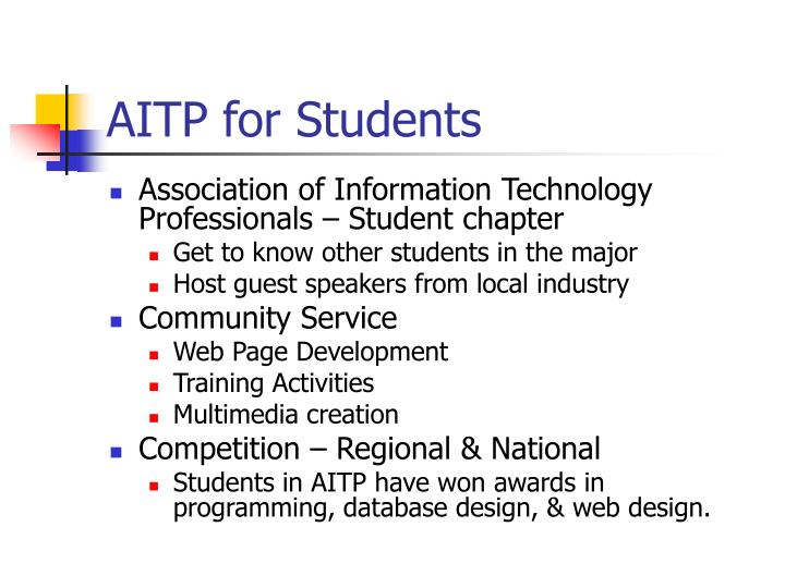 AITP for Students