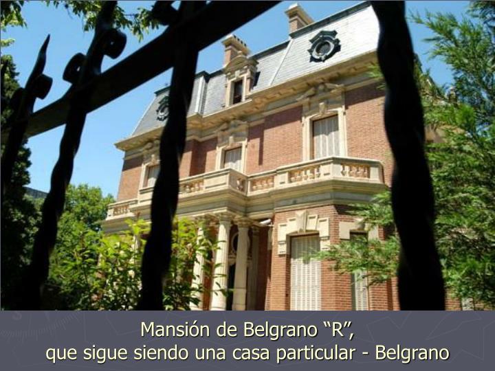 Mansión de Belgrano