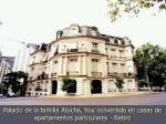 palacio de la familia atucha hoy convertido en casas de apartamentos particulares retiro