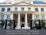 palacio de la familia duhau actualmente incorporado al hotel park hyatt recoleta
