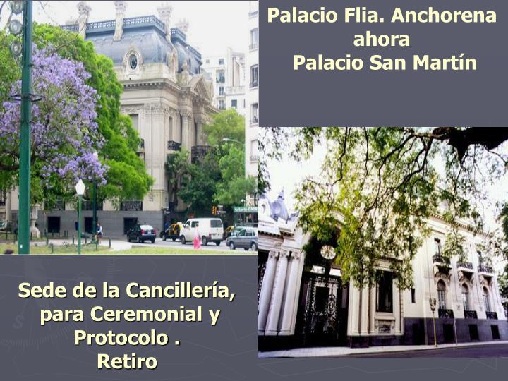Palacio Flia. Anchorena