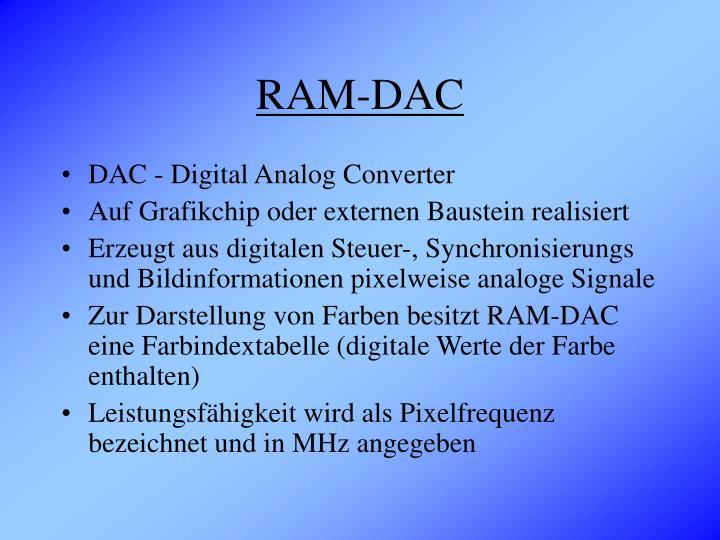 RAM-DAC
