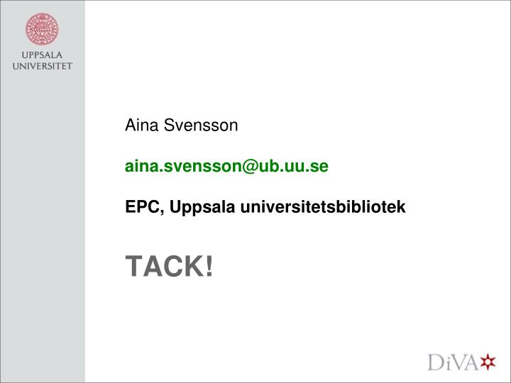 Aina Svensson