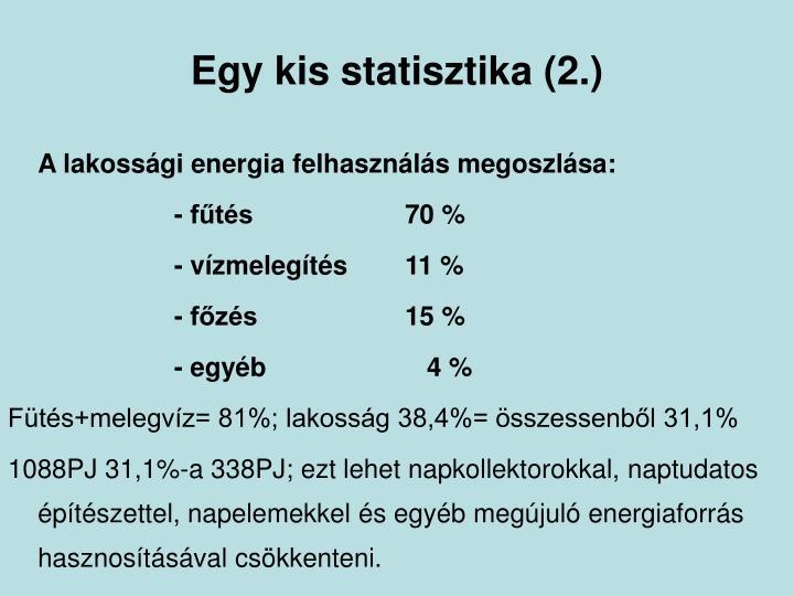 Egy kis statisztika (2.)