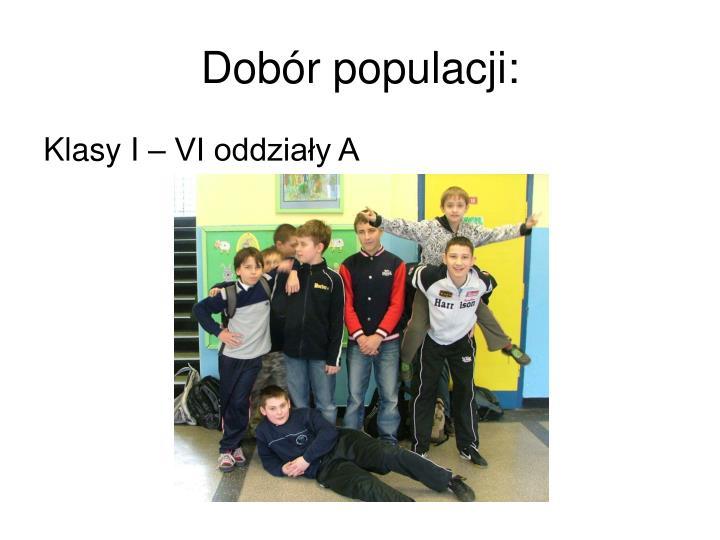 Dobór populacji: