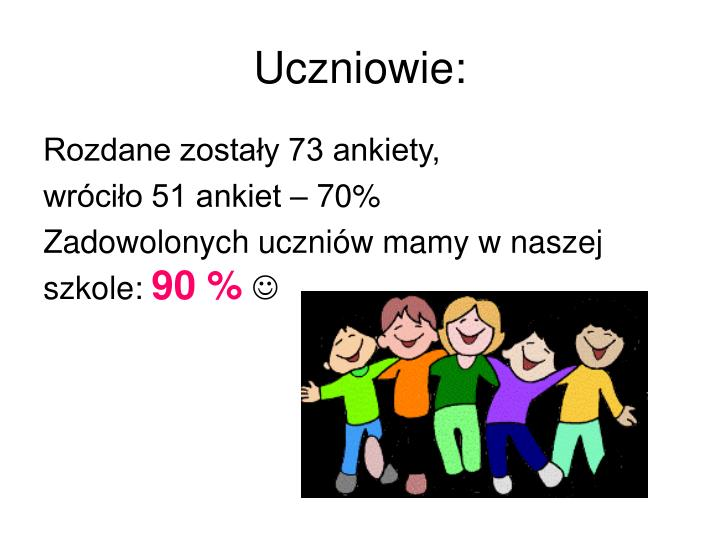 Uczniowie: