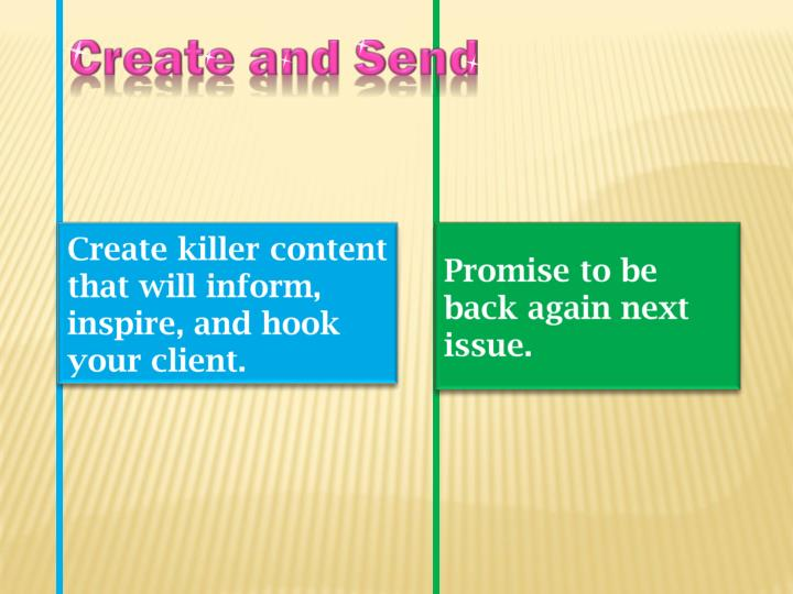 Create and Send