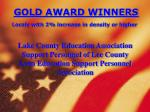 gold award winners locals with 2 increase in density or higher5