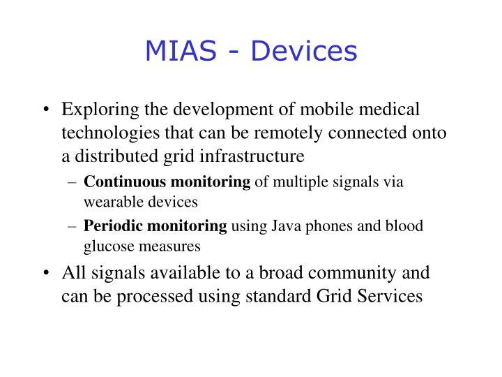 MIAS - Devices