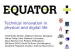 technical innovation in physical and digital life