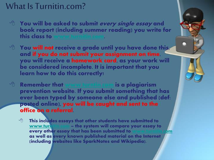 What Is Turnitin.com?