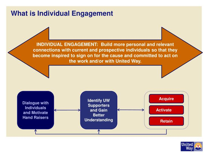 What is Individual Engagement