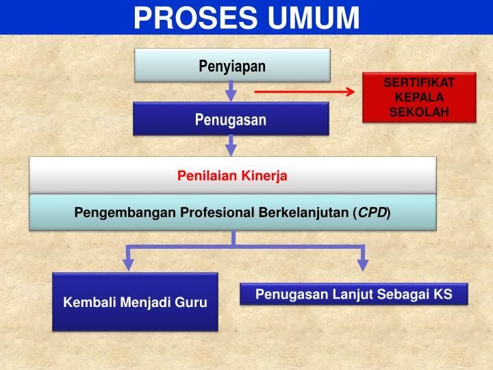 PROSES UMUM