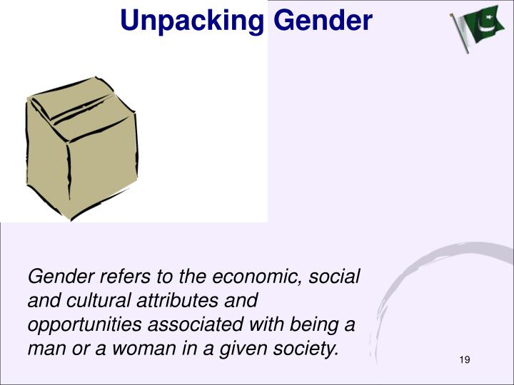 Unpacking Gender