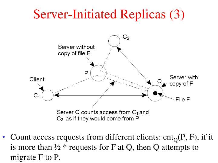 Server-Initiated Replicas (3)