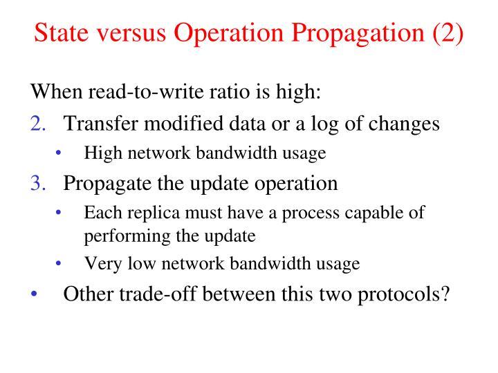 State versus Operation Propagation (2)