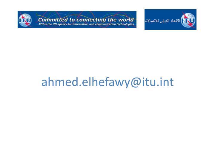 ahmed.elhefawy@itu.int
