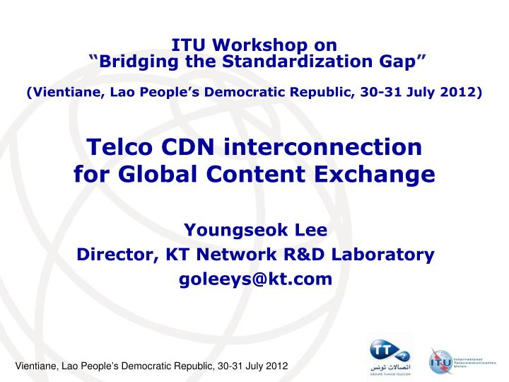 telco cdn interconnection for global content exchange