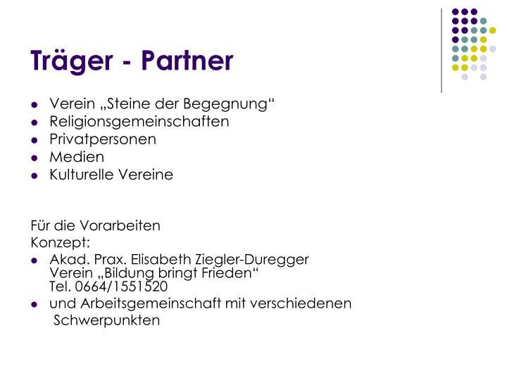 Träger - Partner