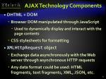 ajax technology components