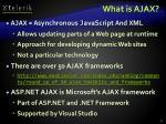 what is ajax1