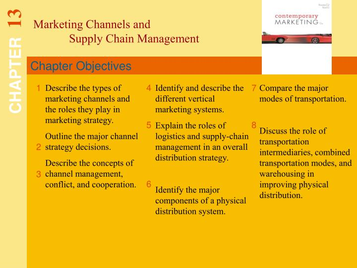 Marketing Channels and