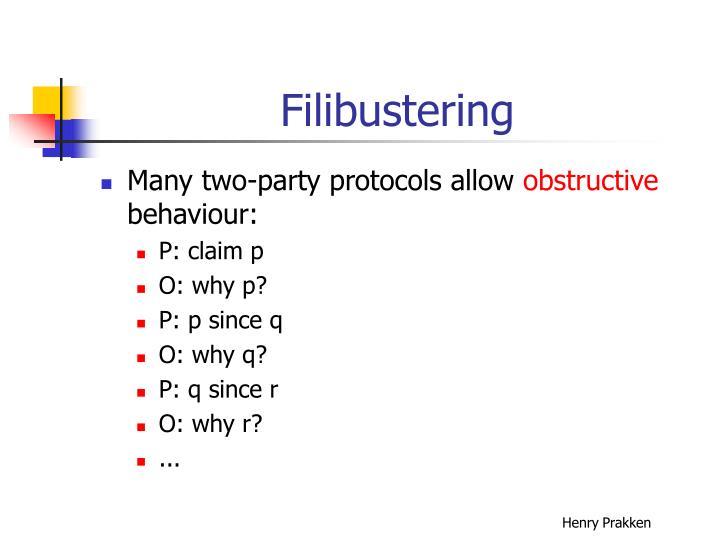 Filibustering