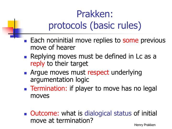 Prakken: