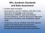 ieps academic standards and state assessment1