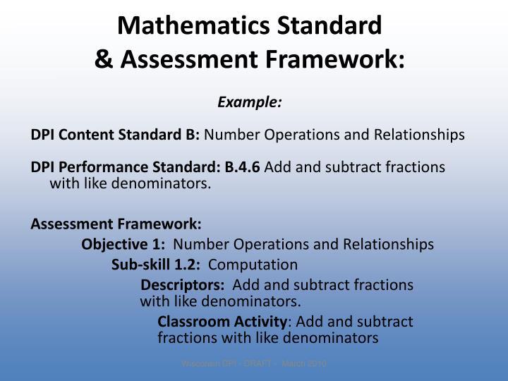 Mathematics Standard