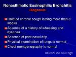nonasthmatic eosinophilic bronchitis diagnosis