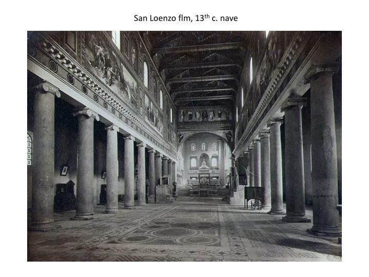 San Loenzo flm, 13
