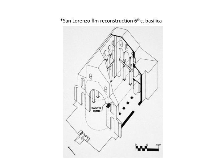 *San Lorenzo flm reconstruction 6