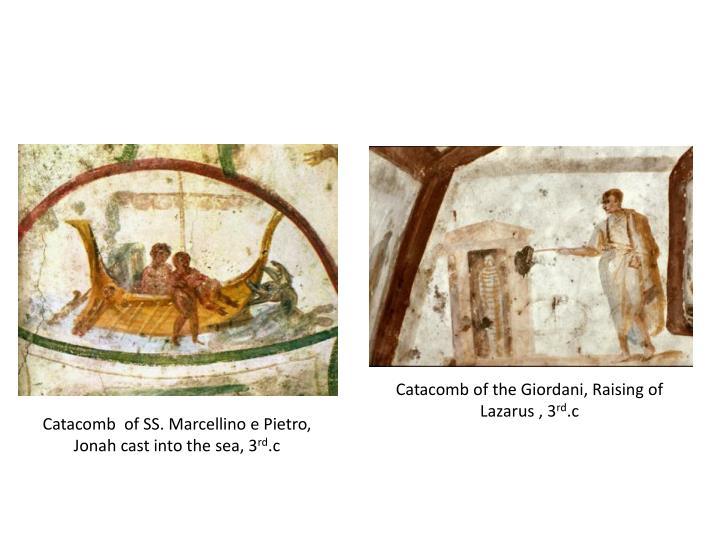 Catacomb of the Giordani, Raising of Lazarus , 3