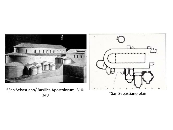 *San Sebastiano/ Basilica Apostolorum, 310-340