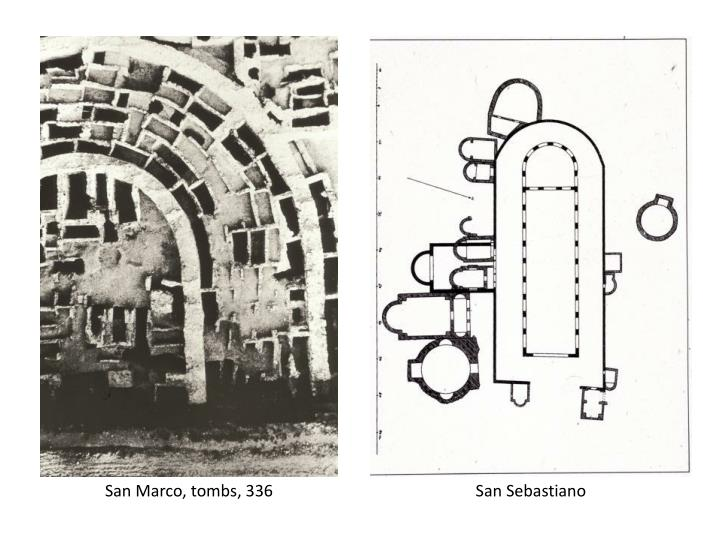 San Marco, tombs, 336