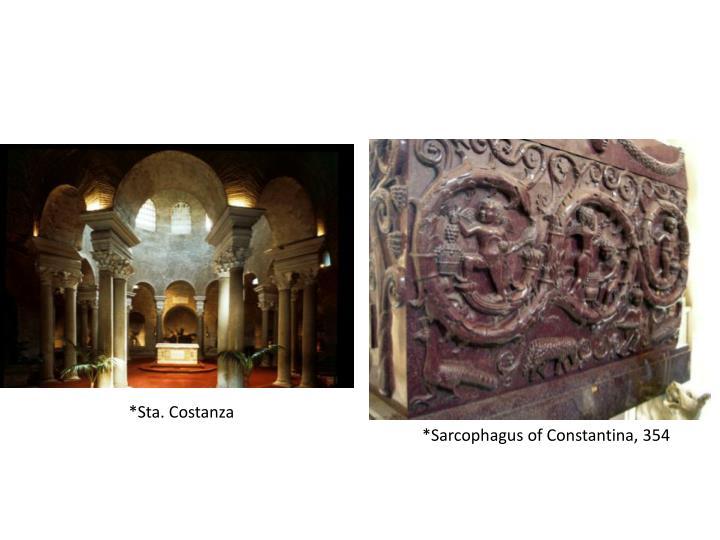 *Sta. Costanza