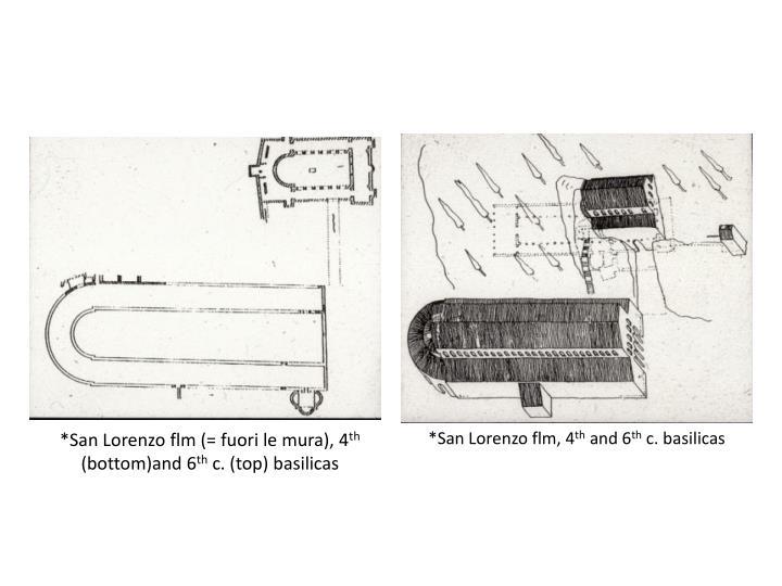 *San Lorenzo flm (= fuori le mura), 4