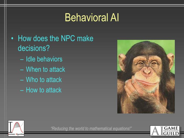 Behavioral AI
