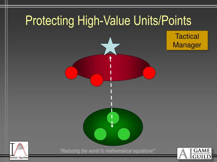 Protecting High-Value Units/Points