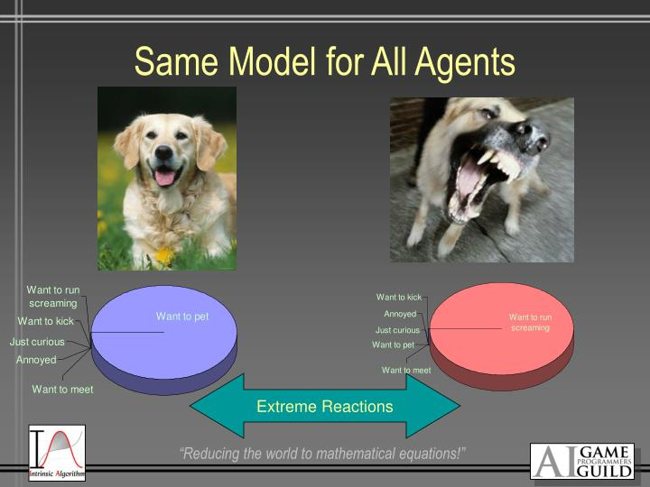 Same Model for All Agents