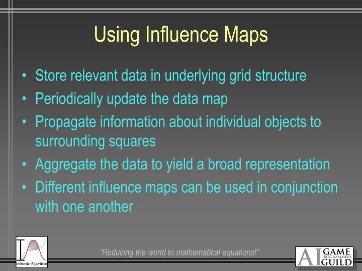 Using Influence Maps