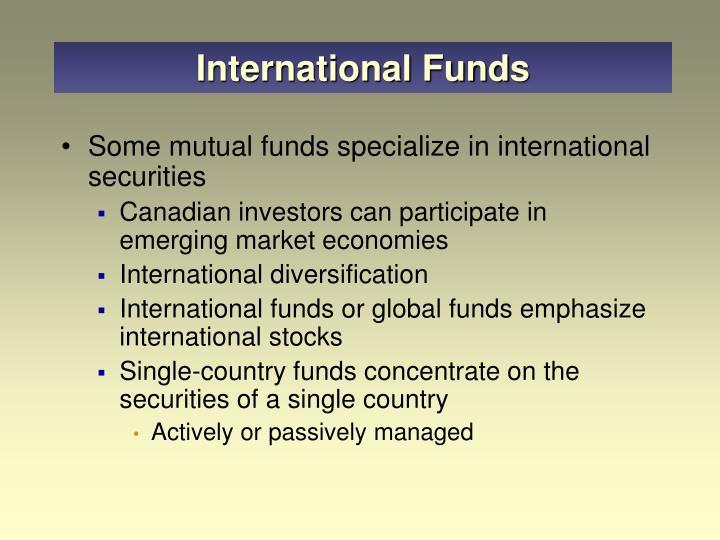 International Funds