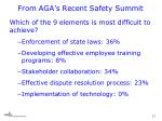 from aga s recent safety summit1
