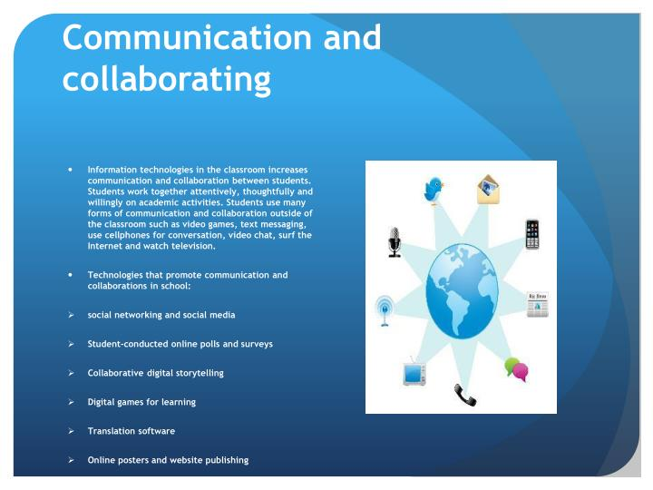 Communication and collaborating