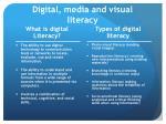 digital media and visual literacy