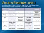 solution examples cont1