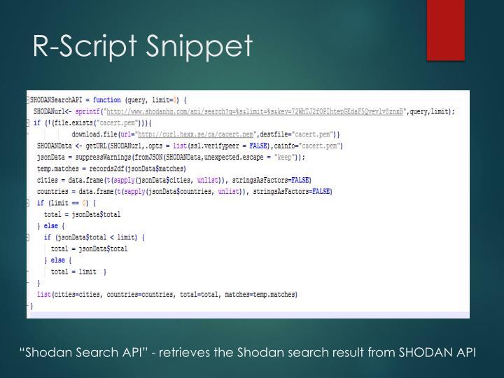 R-Script Snippet