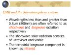 emr and the sun atmosphere system1